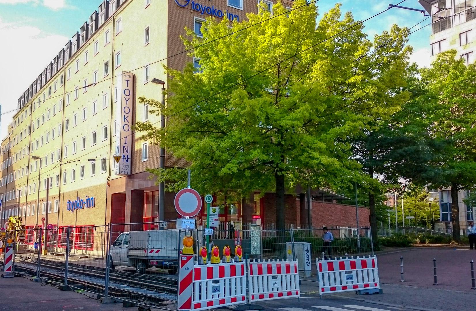 フランクフルトの日系ホテル 東横イン フランクフルト