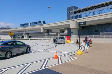 サンフランシスコ空港アクセス・Uber移動