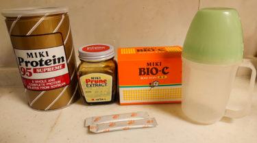 大病後、災害時、旅行に持参の栄養食